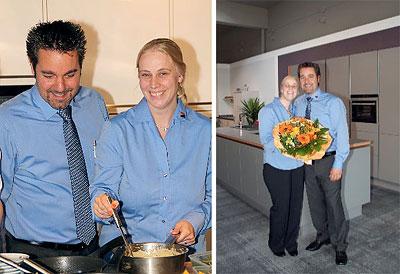 Markus Welteroth und Kristina Borgelt - M1 Küchenloft